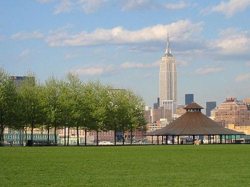 Pier A Park Gazebo, Hoboken NJ